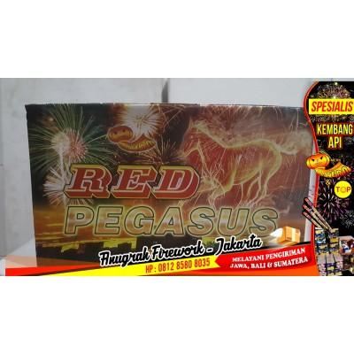 """Kembang Api Cake LANTERN Red Pegasus 81s 1,5"""""""